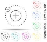 electron multi color style icon....