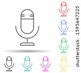 microphone multi color style...