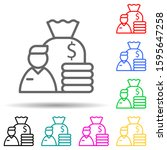 employee earnings multi color...
