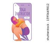 yoga instructor smartphone...