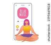 relax music smartphone...