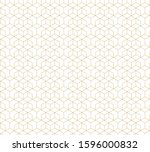 abstract geometric pattern... | Shutterstock .eps vector #1596000832