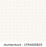 geometric abstract pattern... | Shutterstock .eps vector #1596000835