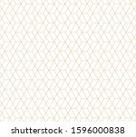 geometric abstract pattern... | Shutterstock .eps vector #1596000838