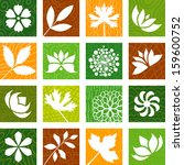 nature icons   Shutterstock .eps vector #159600752
