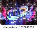 business intelligence. diagram  ... | Shutterstock . vector #1596015055