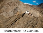 himalaya mountains landscape... | Shutterstock . vector #159604886