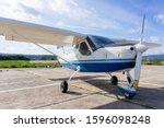 Small Light Airplane Ready To...