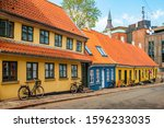 Colored Traditional Houses In...