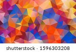 Vector Background From Polygons ...