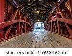 Crossing Shearer's Mill Covered ...