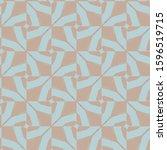 seamless geometric ornamental... | Shutterstock .eps vector #1596519715