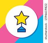 vector illustration of award...