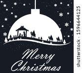 Christmas Card Three Kings And...
