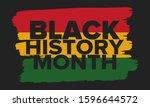 black history month. african... | Shutterstock .eps vector #1596644572