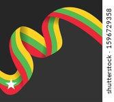 celebrating myanmar...   Shutterstock .eps vector #1596729358