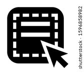 select element icon isolated...
