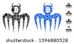 bitcoin spectre devil...   Shutterstock .eps vector #1596880528