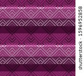 geometric pattern and ethnic... | Shutterstock . vector #1596952858