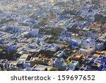 rooftops of old town  bundi ... | Shutterstock . vector #159697652