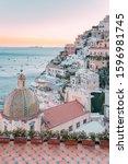 Positano At Sunset  Amalfi...