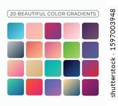 modern beautiful color gradient ...
