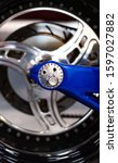 Closeup View Brake Disk  Wheel...