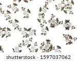 light green  yellow vector... | Shutterstock .eps vector #1597037062