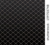 wire fence vector background. | Shutterstock .eps vector #159703748