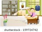 business illustration | Shutterstock .eps vector #159724742