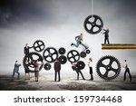conceptual image of... | Shutterstock . vector #159734468