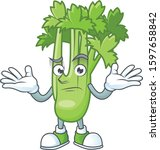 cool grinning of celery plant...   Shutterstock .eps vector #1597658842