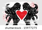 vector love | Shutterstock .eps vector #15977275