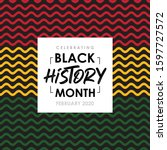 african american history or... | Shutterstock .eps vector #1597727572