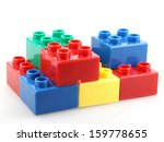 building blocks isolated on... | Shutterstock . vector #159778655