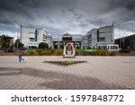bishkek  kyrgyzstan  circa... | Shutterstock . vector #1597848772