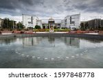 bishkek  kyrgyzstan  circa... | Shutterstock . vector #1597848778