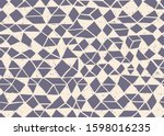 seamless pattern. triangle... | Shutterstock .eps vector #1598016235