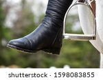 Equestrian\'s Tall Boots With...