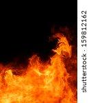 blaze fire flame texture... | Shutterstock . vector #159812162