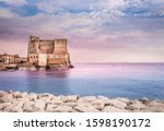 Castel Dell'ovo In Naples Italy ...
