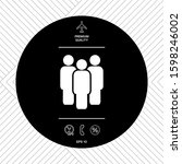 team symbol icon. graphic... | Shutterstock .eps vector #1598246002