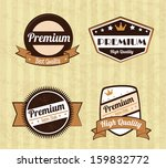 guaranteed  seals over lineal... | Shutterstock .eps vector #159832772