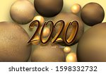 2020 new year celebration event ... | Shutterstock . vector #1598332732