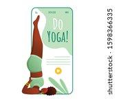 do yoga smartphone interface...