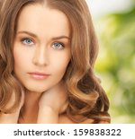 health and beauty  eco  bio ... | Shutterstock . vector #159838322