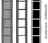 film  movie  photo  filmstrip ... | Shutterstock .eps vector #159866105