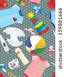 kids related seamless pattern   Shutterstock . vector #159881666