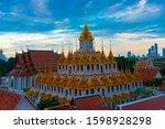 wat ratchanatdaram worawihan...   Shutterstock . vector #1598928298