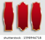 set of vertical banners chinese ... | Shutterstock .eps vector #1598946718